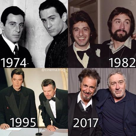 Al Pacino Robert De Niro Old Movie Stars Movie Stars