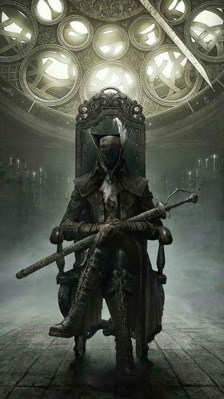 Lady Maria Of The Clocktower Bloodborne Art Dark Fantasy Art Dark Fantasy