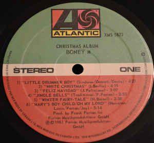 Boney M Christmas Album Lp Album For Sale Discogs Christmas Albums Album Boney M