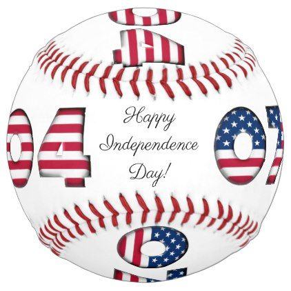 Happy Independence Day Softball Stars And Stripes Zazzle Com Happy Independence Day Happy Independence Independence Day