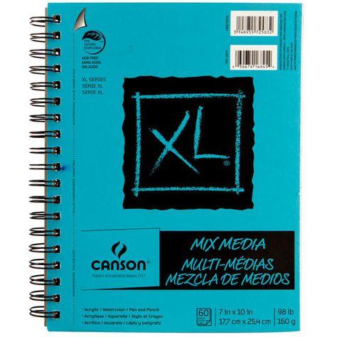 Canson Xl Mix Media Pad 7 X 10 Michaels Mixed Media