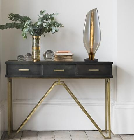 Console Table Decor Table Lamps To Choose From Console Table