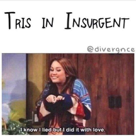 ~Divergent~ ~Insurgent~ ~Allegiant~ that's so true Divergent Jokes, Divergent Hunger Games, Divergent Fandom, Divergent Trilogy, Divergent Insurgent Allegiant, Insurgent Quotes, Veronica Roth, Lying Game, Tris And Four