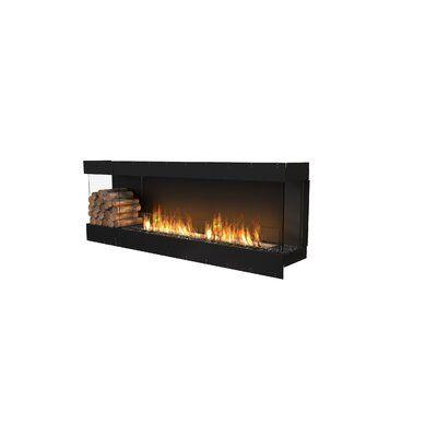 Ecosmart Fire Flex86 Bay Wall Mounted Bio Ethanol Fireplace Insert Recessed Electric Fireplace Bioethanol Fireplace Fireplace Inserts