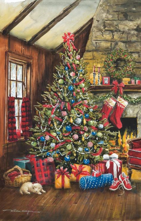 O' Christmas Tree / Mangum Jigsaw Puzzle