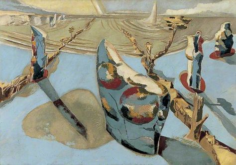Circle of the Monoliths - Your Paintings - Paul Nash paintings