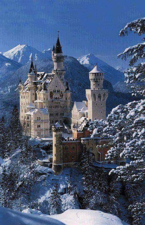 Pin By Kurtis Galloway On Home Away From Home With Images Neuschwanstein Castle Germany Castles Famous Castles
