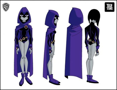 DC Teen Titans Raven Cosplay Costume(Only Cloak and Belt)