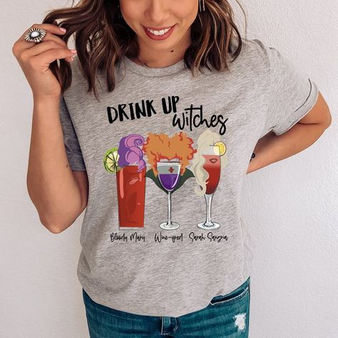 Drink Up Witches Tee #igmoms #funnymoms #outfitideas4you #springstyle #momadvice #momlifebelike #stylish #affordablestyle #shopping #style