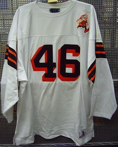 1946 Cleveland Browns Sports Uniforms Cleveland Browns Brown Stuff