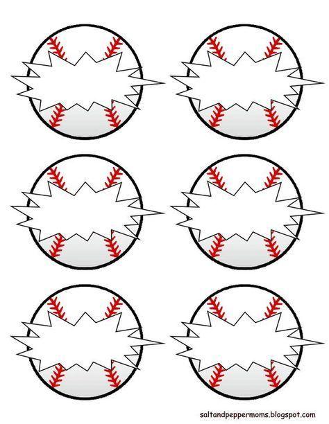 Baseball Snack Tags pdf - Google Drive: …   Baseball   Baseb…