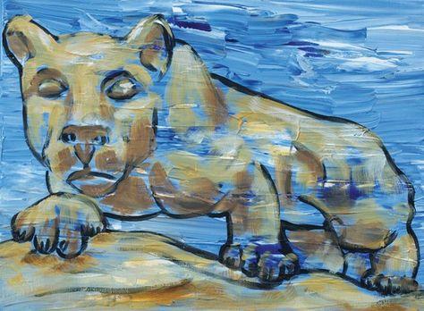 PSU Lion print 8x10