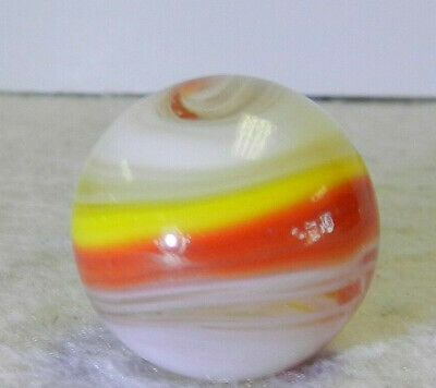 11701m Large 73 Inches Vintage Akro Agate Red And Yellow Popeye Marble In 2020 Vintage Marble Red