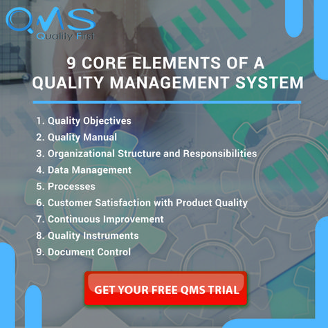 Nine Core Elements of a Quality Management System