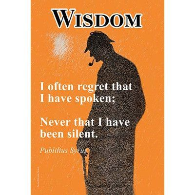 Buyenlarge 'Wisdom' by Jason Pierce Vintage Advertisement Size: 30