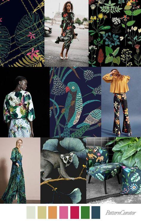 #pattern #curator #trends #jungle #wild #ssTRENDS TRENDS | PATTERN CURATOR - WILD JUNGLE . SS 2019TRENDS | PATTERN CURATOR - WILD JUNGLE . SS 2019