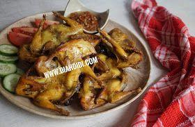 Diah Didi S Kitchen Burung Puyuh Goreng Burung Puyuh Resep Masakan Makanan