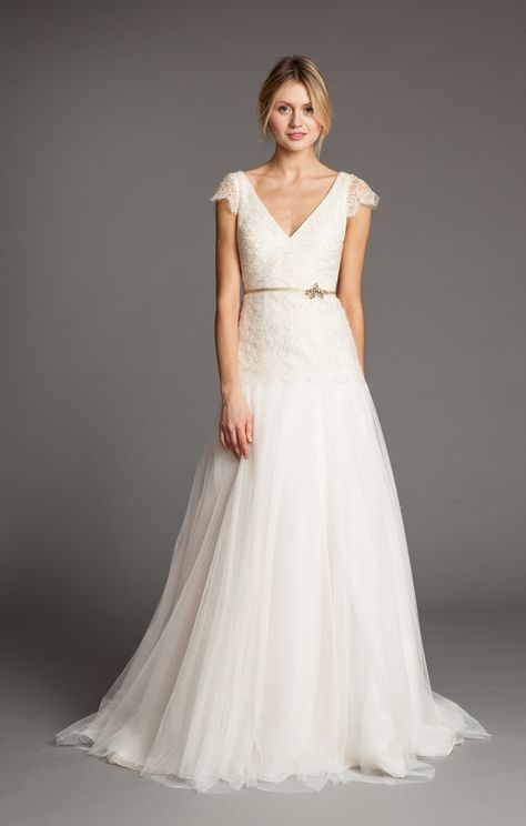 Vionnet Gown by Jenny Yoo Collection $1895 http://www.jennyyoo.com/bridal06.html