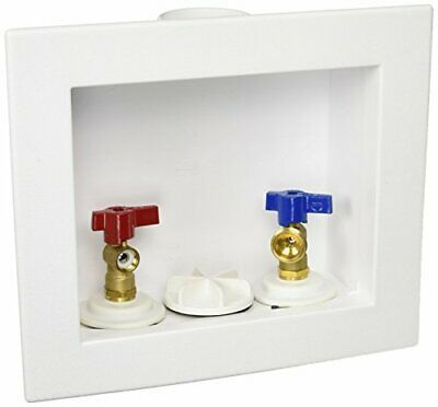 Oatey 38934 1 4 Turn Brass Ball Valves Washing Machine Outlet Center Drain Box In 2020 Valve Washing Machine Display Boxes