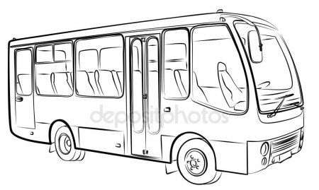 Desenho De Onibus Com Imagens Onibus Desenho Desenhos De