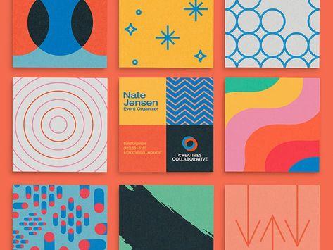 Creatives Collaborative Business Card - Business Card Design Inspiration