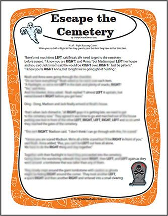 free halloween party games printables # 24