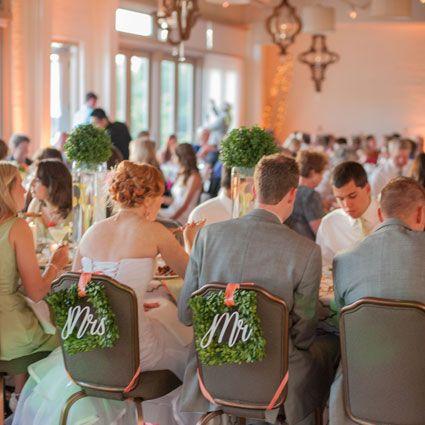 A Wedding Reception In The Weaver Room At Proximity Hotel Greensboro NC Photo By Liz Grogan