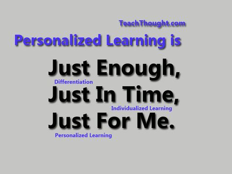 A Simple Way To Clarify Personalized Learning Learning