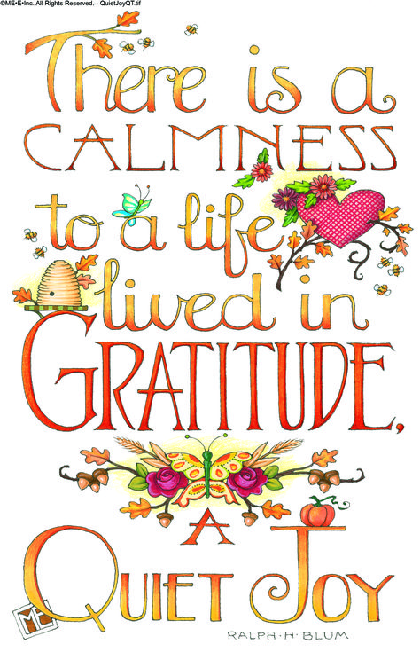 There is a calmness to a life lived in Gratitude. A Quiet Joy - Mary Engelbreit Mary Engelbreit, Life Quotes Love, Me Quotes, Bible Quotes, 2015 Quotes, Pain Quotes, Strength Quotes, Change Quotes, Woman Quotes