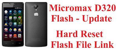 micromax d320 flash file download l micromax d320 firmware