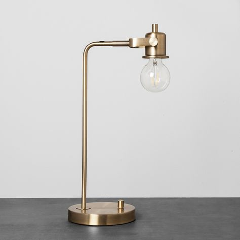 Exposed Bulb Brass Table Lamp Hearth & Hand with Magnolia