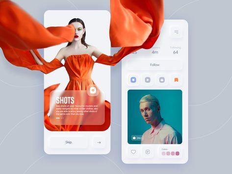 Models social app