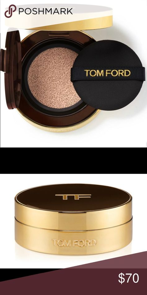 Tom Ford Traceless Foundation Cushion Compact Tom Ford Traceless Foundation Cushion Compact SPF 45 Refill 0.5 Porcelain AND Traceless Foundation Cushion Compact (hard to find, sold out on Beautylish) Ive used the foundation once. I didn't read the ingredients before I applied it and I'm allergic to Morinda  Citrifolia (Noni) extract. Otherwise perfect color for my fair, cool toned complexion. I'm so sad 😢 Listing is for BOTH the refill and the compact Tom Ford Makeup Foundation