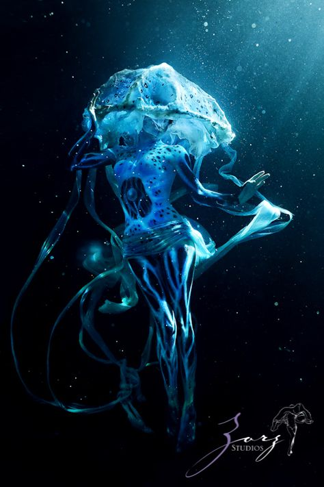 Never thought of this before, but Jellyfish People? I think they should be the Lotus of the sea, as in Greek Mythology.