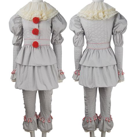 Kids Boys clown Pennywise boots cover cosplay Halloween costume X/'mas gift toys