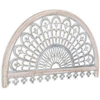 Whitewash Arch Metal Wall Decor Hobby Lobby 1648344 In 2020 Arched Wall Decor Metal Wall Decor Farmhouse Wall Decor Diy