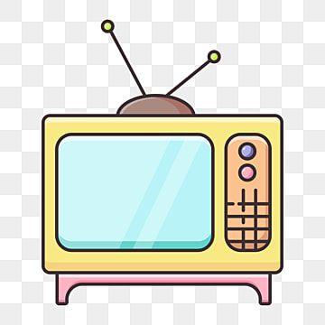 أصفر ناقل التلفزيون القديم الأصفر لون دافئ التلفاز Png والمتجهات للتحميل مجانا In 2021 Color Television Old Time Photos Warm Colors