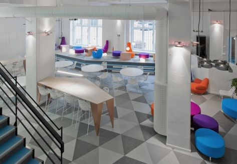 Skype's Stockholm Office Sparks with Contrast