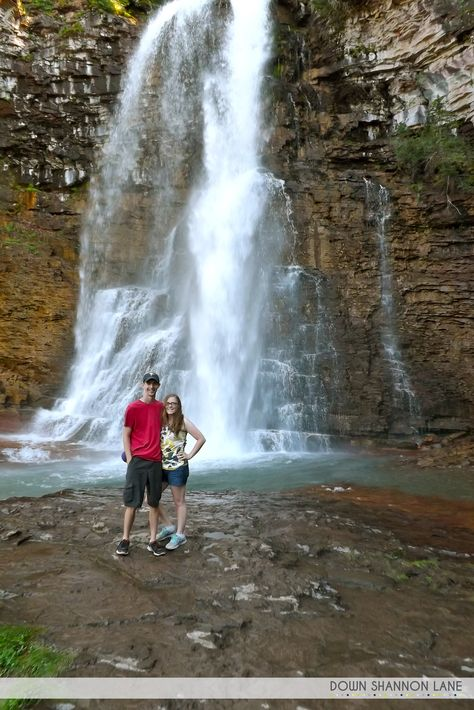Glacier National Park: Crown of the Continent. Virginia Falls. http://downshannonlane.com/2014/08/23/the-crown-of-the-continent-part-4/