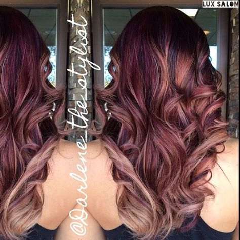 Similar to the color I have now... Only a slight bit more purple than I like.  But love