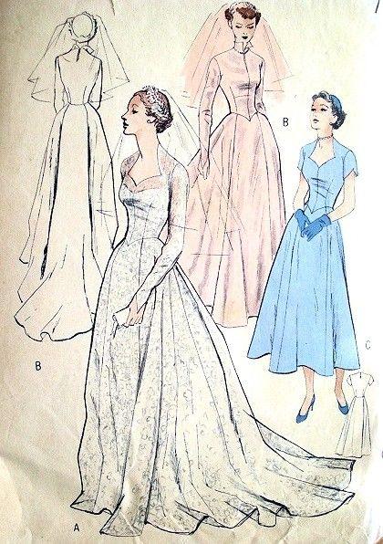 Sweetheart Wedding Dress Pattern