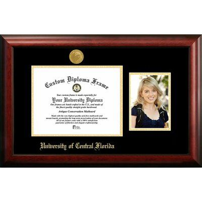 Campus Images University Of Central Florida Embossed Diploma Picture Frame Frame Picture Frames Picture Frame Sets