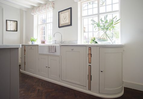 small u shaped kitchen mdfyw suffolk kitchen painted in dove grey neptunekitchen wwwneptune