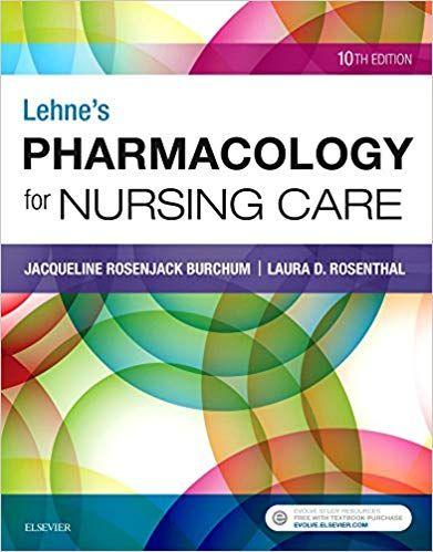 PDF DOWNLOAD Lehne S Pharmacology For Nursing Care Free