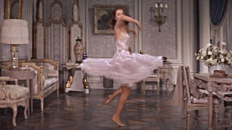 GIF Twirling Cyd Charisse from Silk Stockings Rouben Mamoulian Aesthetic Gif, Pink Aesthetic, Aesthetic Beauty, Aphrodite, Cyd Charisse, Silk Stockings, Princess Aesthetic, Argentine Tango, Petticoats