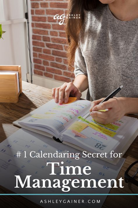 So much to do and so little time? Don't worry, here are my top secret calendaring tips for optimal time management and weekly planning. Learn how to schedule your tasks and appointments in an easy and simple way. Ashley Gainer is an at-home mom, full-time professional freelance writer and has the best business and writing tips. #freelancer #freelancewriter #businesstips #timemanagement #planner