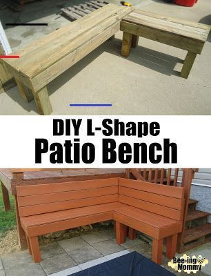 Pallet Benches L Shaped Pallets Pallet Benches L Shaped Pallet Benches Shaped In 2020 Diy Patio Bench Diy Patio Furniture Patio Bench
