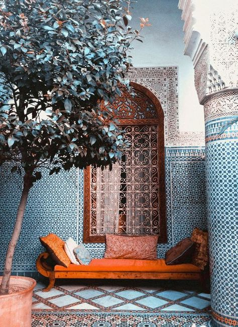 Moroccan Decor 33864 24 Magnificent Moroccan Riad Courtyards - Rover at Home