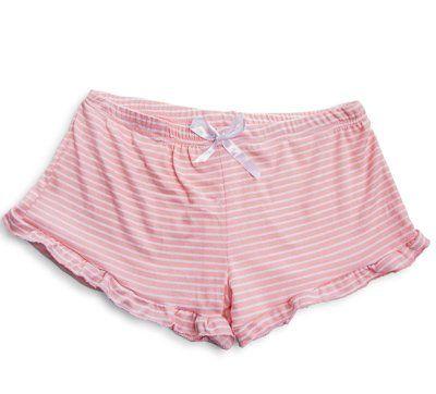 Blush Pink Pinstripe Bloomer Pants