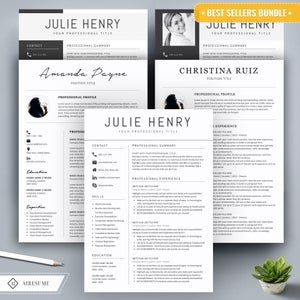 Professional Modern Resume Template For Word And Pages Etsy In 2021 Resume Template Word Resume Template Professional Cover Letter Teacher